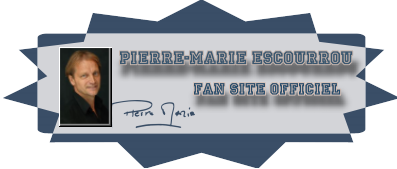 Logo of the official fansite of Pierre-marie Escourrou