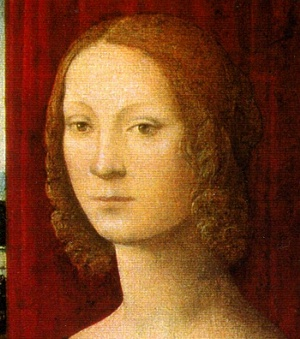 A Look Up Caterina Sforza's Skirt